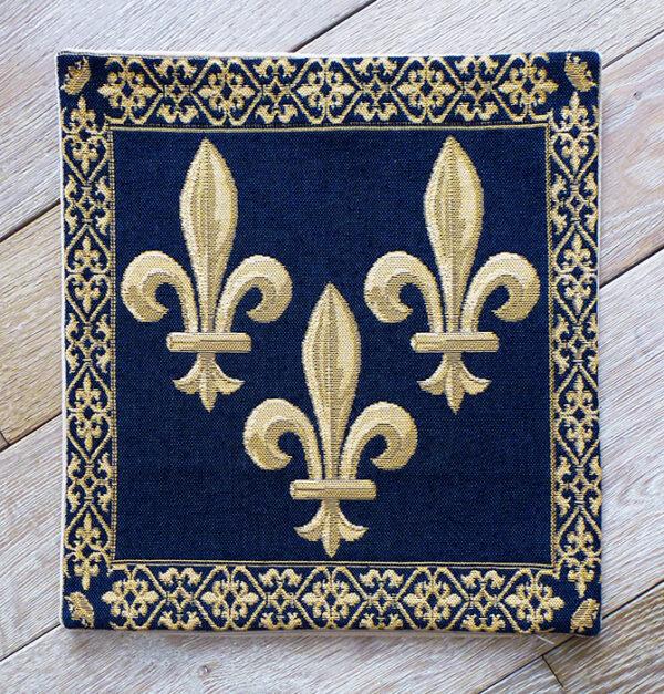 Coussin Fleurs de Lys -- 36X36cm-10849